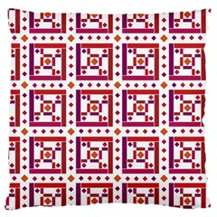 Background Abstract Square Large Flano Cushion Case (two Sides)