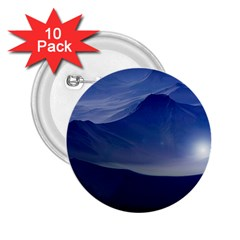 Planet Discover Fantasy World 2 25  Buttons (10 Pack)
