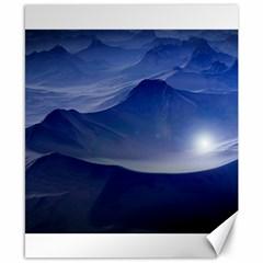Planet Discover Fantasy World Canvas 8  X 10