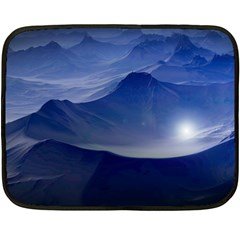 Planet Discover Fantasy World Fleece Blanket (mini)