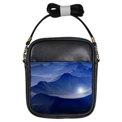 Planet Discover Fantasy World Girls Sling Bags
