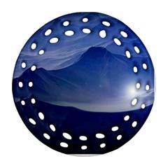 Planet Discover Fantasy World Ornament (round Filigree)