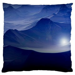 Planet Discover Fantasy World Large Cushion Case (one Side) by Nexatart