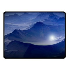Planet Discover Fantasy World Double Sided Fleece Blanket (small)
