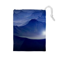 Planet Discover Fantasy World Drawstring Pouches (large)