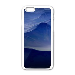 Planet Discover Fantasy World Apple Iphone 6/6s White Enamel Case