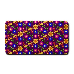 Flower Pattern Illustration Background Medium Bar Mats