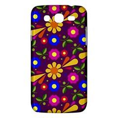 Flower Pattern Illustration Background Samsung Galaxy Mega 5 8 I9152 Hardshell Case