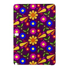Flower Pattern Illustration Background Samsung Galaxy Tab Pro 12 2 Hardshell Case