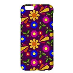 Flower Pattern Illustration Background Apple Iphone 6 Plus/6s Plus Hardshell Case