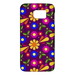 Flower Pattern Illustration Background Galaxy S6