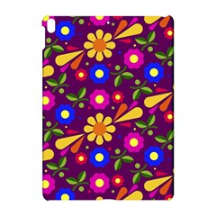 Flower Pattern Illustration Background Apple Ipad Pro 10 5   Hardshell Case