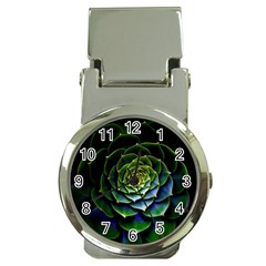 Nature Desktop Flora Color Pattern Money Clip Watches