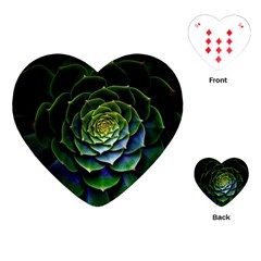 Nature Desktop Flora Color Pattern Playing Cards (heart)