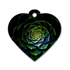 Nature Desktop Flora Color Pattern Dog Tag Heart (one Side)