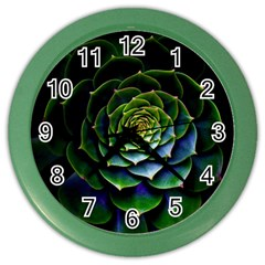 Nature Desktop Flora Color Pattern Color Wall Clocks