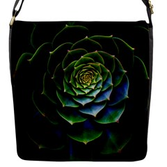 Nature Desktop Flora Color Pattern Flap Messenger Bag (s)