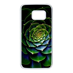 Nature Desktop Flora Color Pattern Samsung Galaxy S7 White Seamless Case