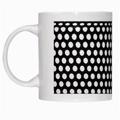 Holes Sheet Grid Metal White Mugs