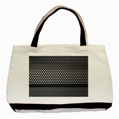 Holes Sheet Grid Metal Basic Tote Bag