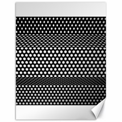 Holes Sheet Grid Metal Canvas 18  X 24