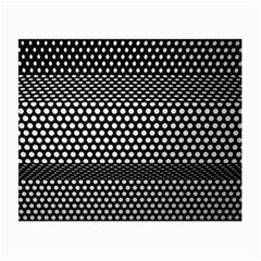 Holes Sheet Grid Metal Small Glasses Cloth (2 Side)
