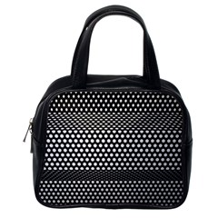 Holes Sheet Grid Metal Classic Handbags (one Side)