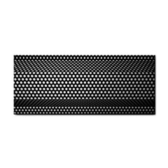 Holes Sheet Grid Metal Cosmetic Storage Cases by Nexatart