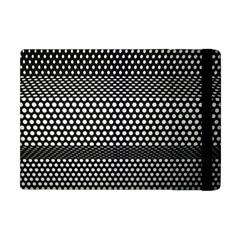 Holes Sheet Grid Metal Apple Ipad Mini Flip Case