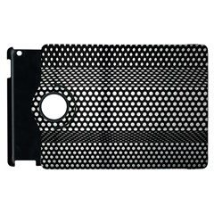 Holes Sheet Grid Metal Apple Ipad 3/4 Flip 360 Case