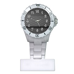 Holes Sheet Grid Metal Plastic Nurses Watch