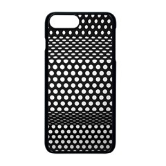Holes Sheet Grid Metal Apple Iphone 8 Plus Seamless Case (black)