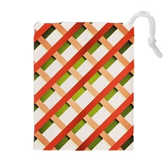 Wallpaper Creative Design Drawstring Pouches (extra Large)
