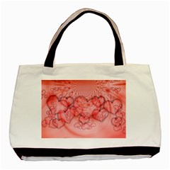 Heart Love Friendly Pattern Basic Tote Bag by Nexatart