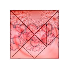 Heart Love Friendly Pattern Acrylic Tangram Puzzle (4  X 4 )