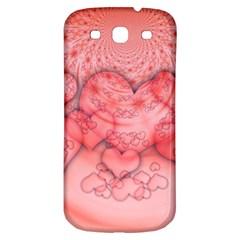 Heart Love Friendly Pattern Samsung Galaxy S3 S Iii Classic Hardshell Back Case