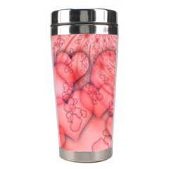 Heart Love Friendly Pattern Stainless Steel Travel Tumblers