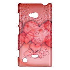 Heart Love Friendly Pattern Nokia Lumia 720 by Nexatart