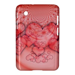 Heart Love Friendly Pattern Samsung Galaxy Tab 2 (7 ) P3100 Hardshell Case