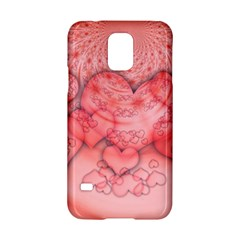 Heart Love Friendly Pattern Samsung Galaxy S5 Hardshell Case