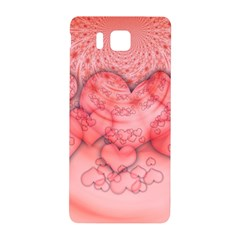 Heart Love Friendly Pattern Samsung Galaxy Alpha Hardshell Back Case by Nexatart