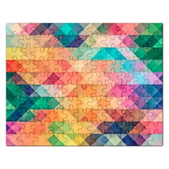 Texture Background Squares Tile Rectangular Jigsaw Puzzl