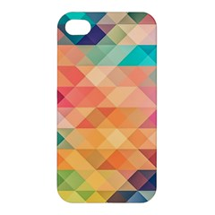 Texture Background Squares Tile Apple Iphone 4/4s Hardshell Case