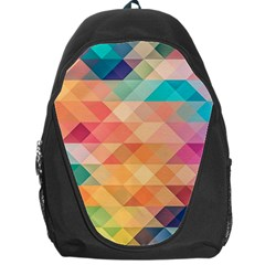Texture Background Squares Tile Backpack Bag