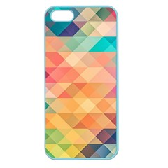Texture Background Squares Tile Apple Seamless Iphone 5 Case (color)