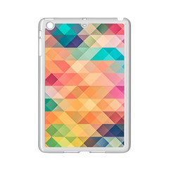 Texture Background Squares Tile Ipad Mini 2 Enamel Coated Cases