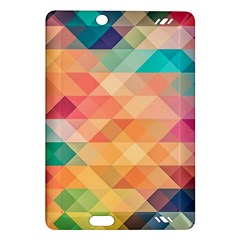 Texture Background Squares Tile Amazon Kindle Fire Hd (2013) Hardshell Case