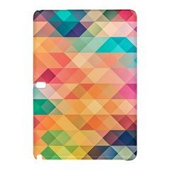 Texture Background Squares Tile Samsung Galaxy Tab Pro 10 1 Hardshell Case
