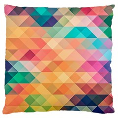 Texture Background Squares Tile Standard Flano Cushion Case (two Sides)