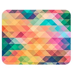 Texture Background Squares Tile Double Sided Flano Blanket (medium)